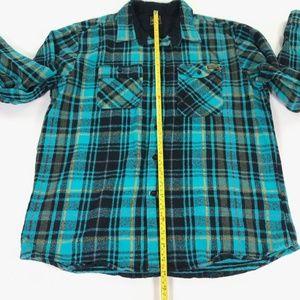 Volcom Shirts - Volcom Workwear Mens Large Plaid Flannel Shirt